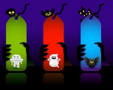 halloween banner  Vector