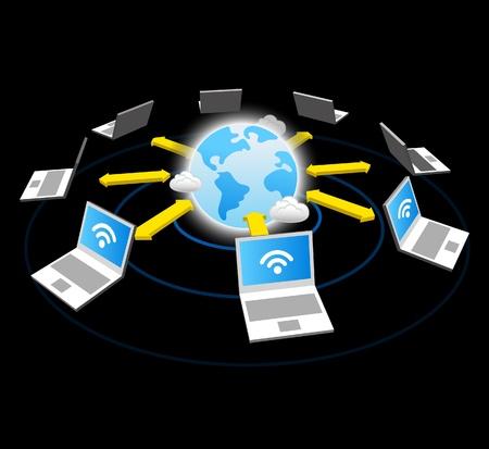global communication Stock Vector - 11495643