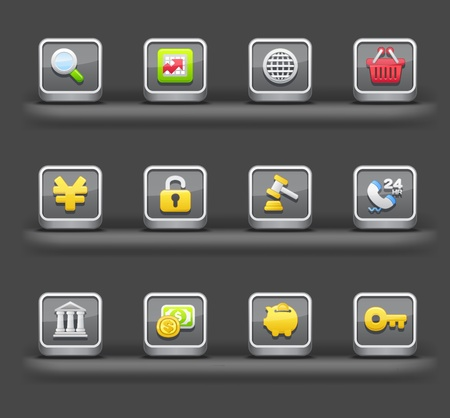 mobile devices: Banking & Finance,Shopping | Mobile devices apps icons