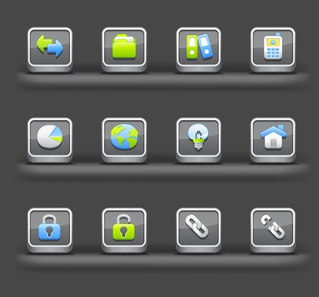 cele: Business & Internet | Mobile devices apps icons