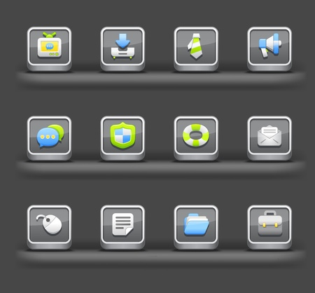 fortification: Business & Internet | Mobile devices apps icons