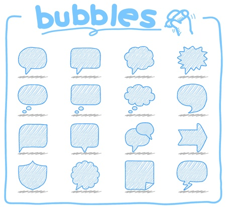 Speech And Thought Bubbles Stock Vector - 11810264