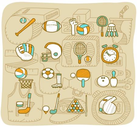 sketchbook: Mocha Series   Sport icon set