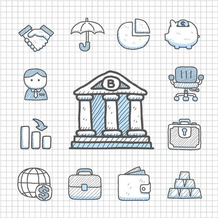 Spotless serie Hand getrokken Financiën pictogram