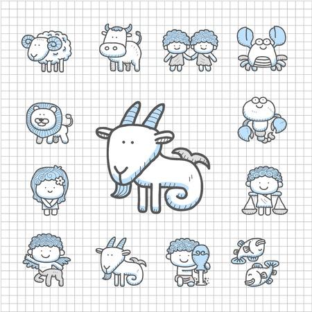 Spotless serie - Getrokken icon set
