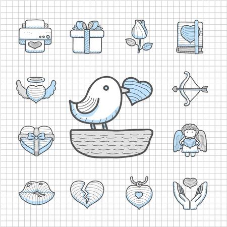Spotless Series   Valentine s Day ,love , wedding icon set