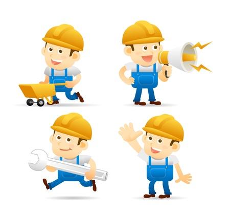 alba�il: La gente elegante serie - set constructor