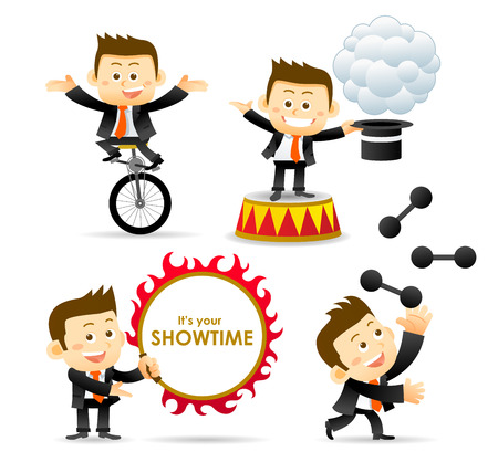 show time: It s show time