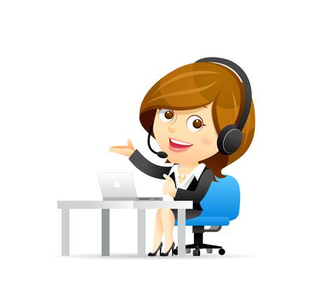 secretarias: Servicio Vectores