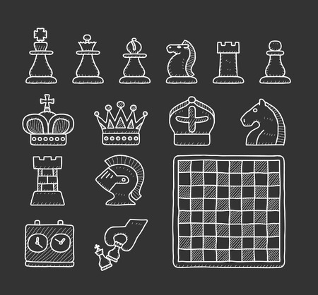 king master: Chees | Doodle icon set