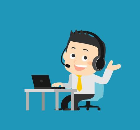 standardiste: Service clients