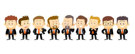 Especialistas en negocios. ilustración conceptual Foto de archivo - 38914115