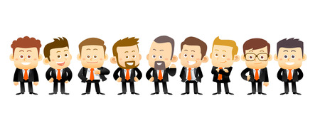 specialists in business. conceptual illustration