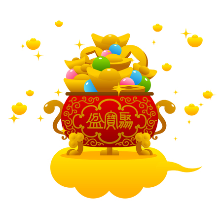 Chinese new year treasure bowl