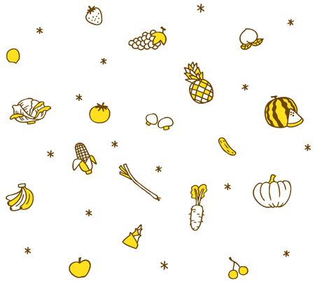 spotless: Vegetables, food pattern