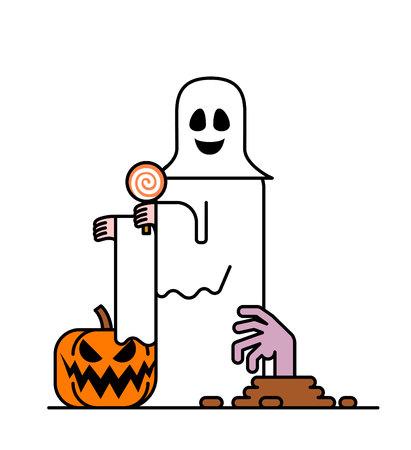 Halloween Character Illustration