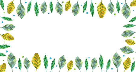 blank space: leaf design background. blank space Stock Photo