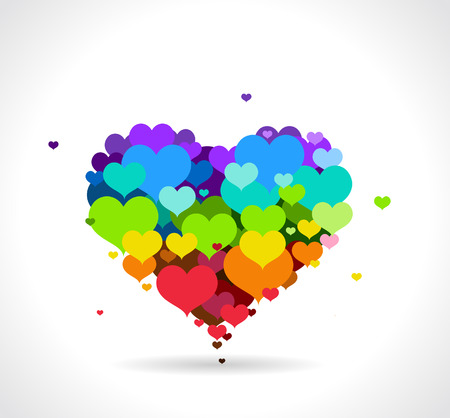 Vectorillustratie -. Happy Valentines Day vakantie ontwerp.