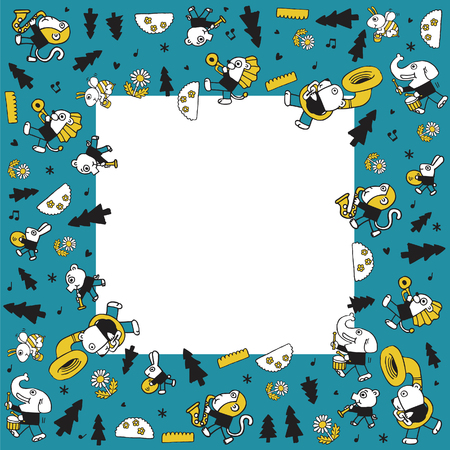 dog rock: animal play music.blank space