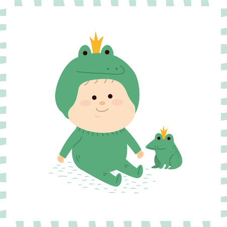 Leuke baby boy.vector illustratie Stockfoto - 72662355