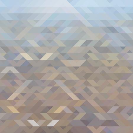 parallelogram: Abstract in beige-blue tones background, vector illustration