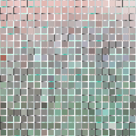 texture backgrounds: Background of pink and green squares, vector illustration