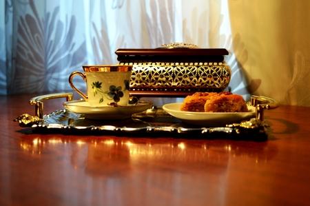 baklava: Baklava On a photo Azerbaijani national sweets