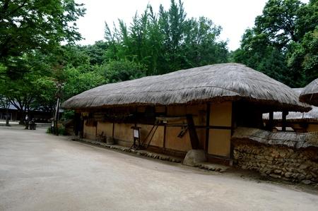 Korean Village in summer by eyes of tourist