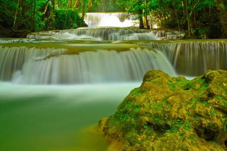 Hui Mae Kamin Waterfall photo
