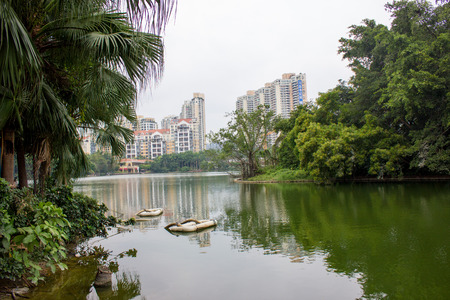a part of the park