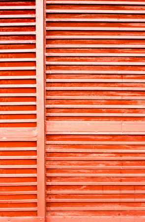 wood window: wood window in orange color