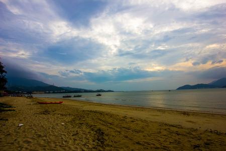 sunup: the sunup on the beach
