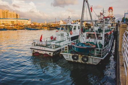 perspectiva lineal: Paisaje de Fisherman Wharf