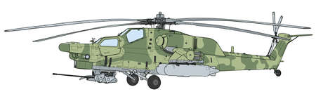 Mi 28 Havoc military attack combat helicopter