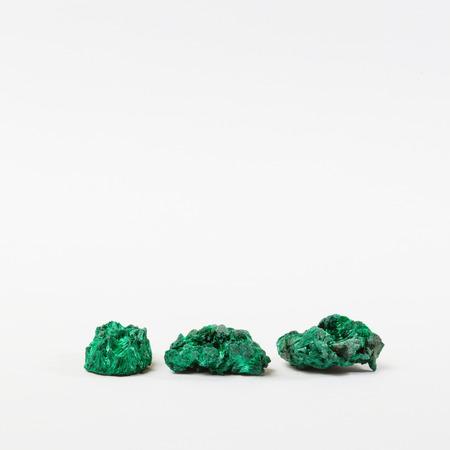 green gemstones: Three green gemstones