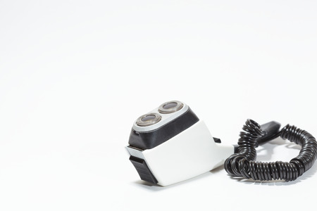 80 s: Old shaving razor  Stock Photo