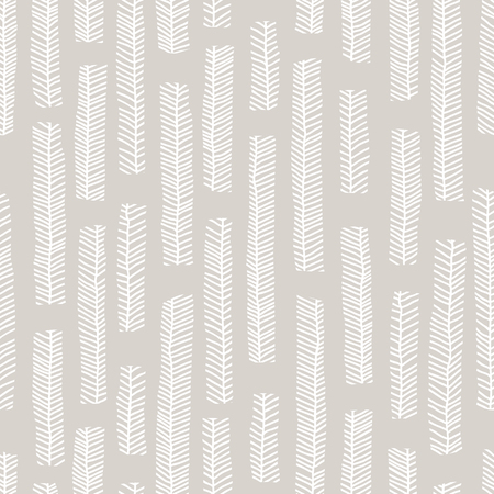 Aboriginal vector seamless pattern including Australian motive with enthnic leaves as background or texture