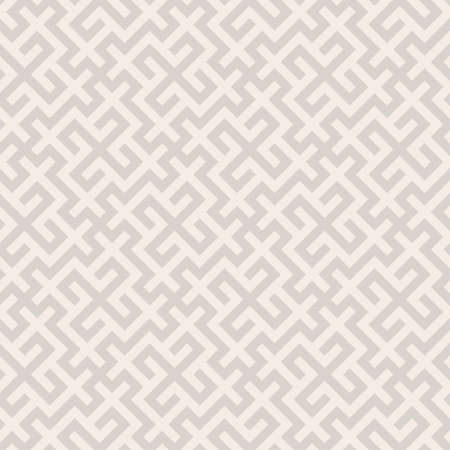 Geometric asian monochrome seamless vector pattern including traditional korean or chinese motive with typical lines and elements 向量圖像