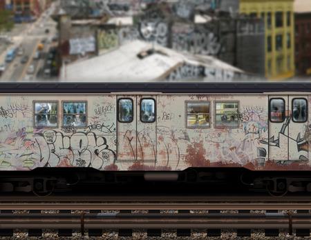 Subway achtergrond