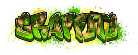 A cool Graffiti styled logotype design. Legible letters aimed for a wide range audience of all ages.
