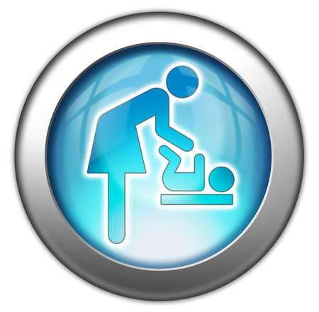 Icon Button Pictogram Baby Change photo