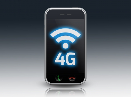 long term evolution: Smartphone 4G  LTE