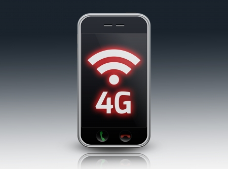 Smartphone 4G LTE photo
