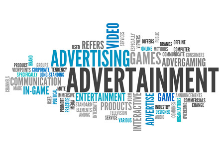 marketers: Word Cloud Advertainment