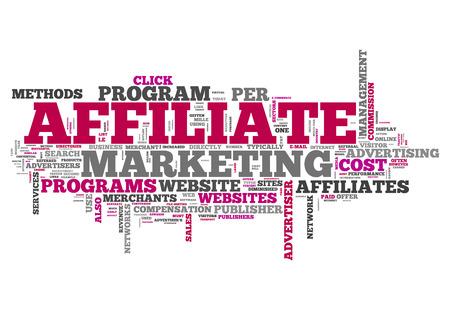 Word Cloud Affiliate Marketing photo
