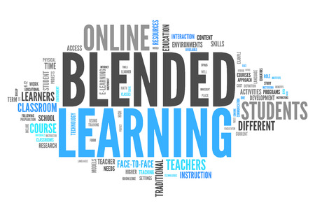 Word Cloud Blended Learning photo