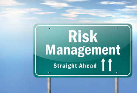 Risk Management Highway Cartello Archivio Fotografico - 25893746