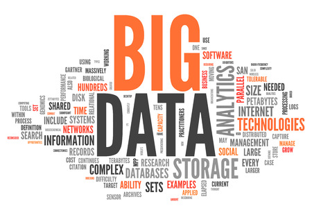 big size: Word Cloud Big Data