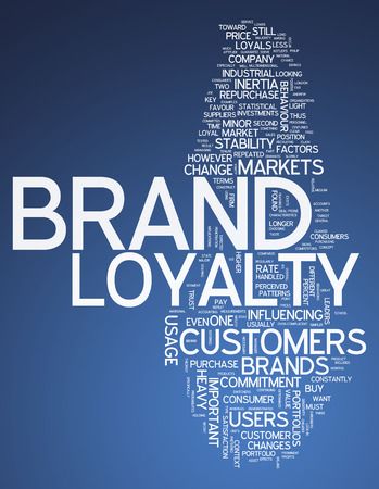 Word Cloud Brand Loyalty photo