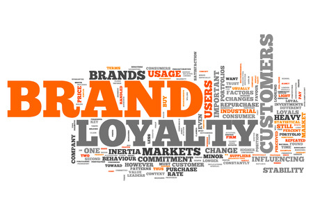 marketers: Word Cloud Brand Loyalty